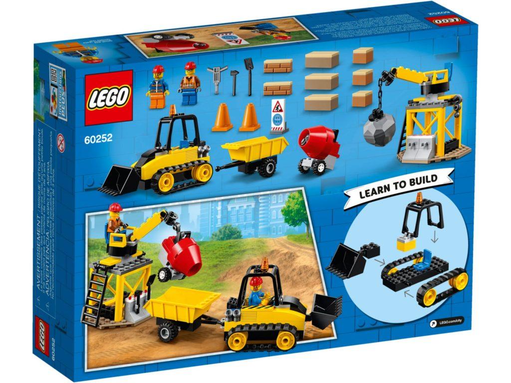 LEGO® City 60252 Bagger auf der Baustelle | ©LEGO Gruppe