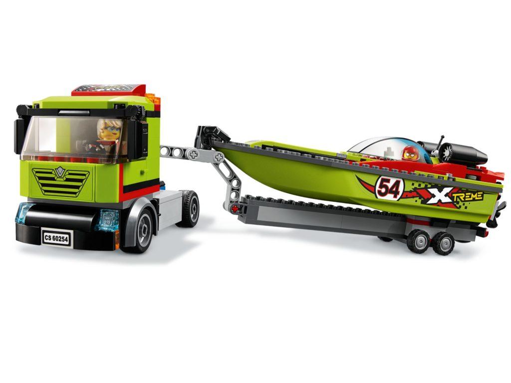 LEGO® City 60254 Rennboot-Transporter | ©LEGO Gruppe