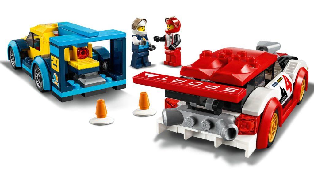 LEGO® City 60256 Rennwagen-Duell | ©LEGO Gruppe
