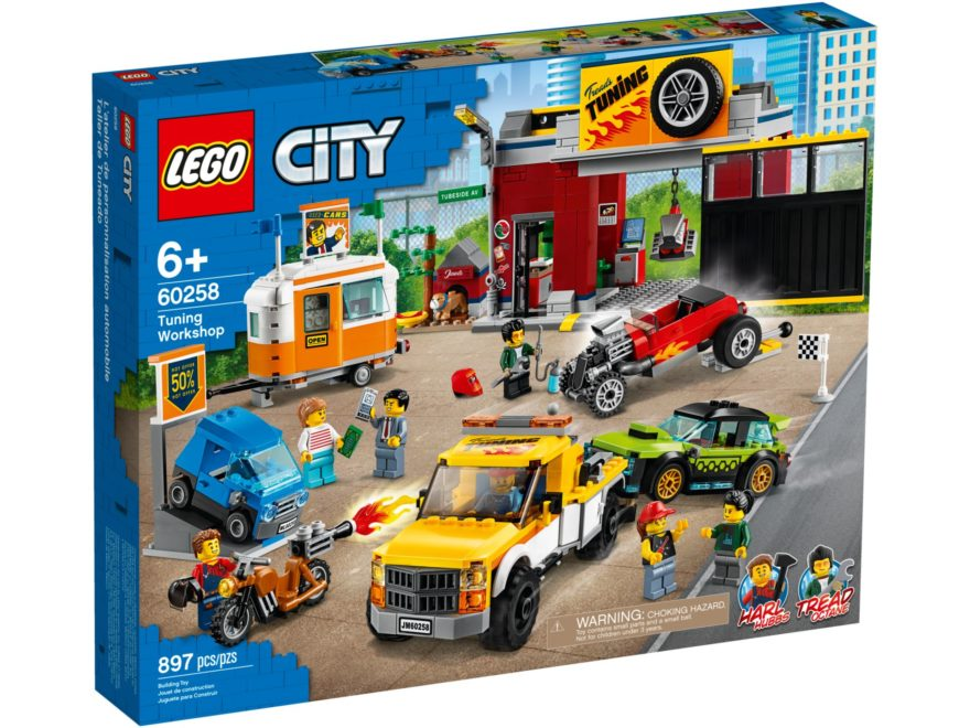 LEGO® City 60258 Tuning-Werkstatt | ©LEGO Gruppe