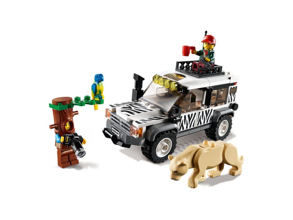 LEGO® City 60267 Safari Geländewagen | ©LEGO Gruppe
