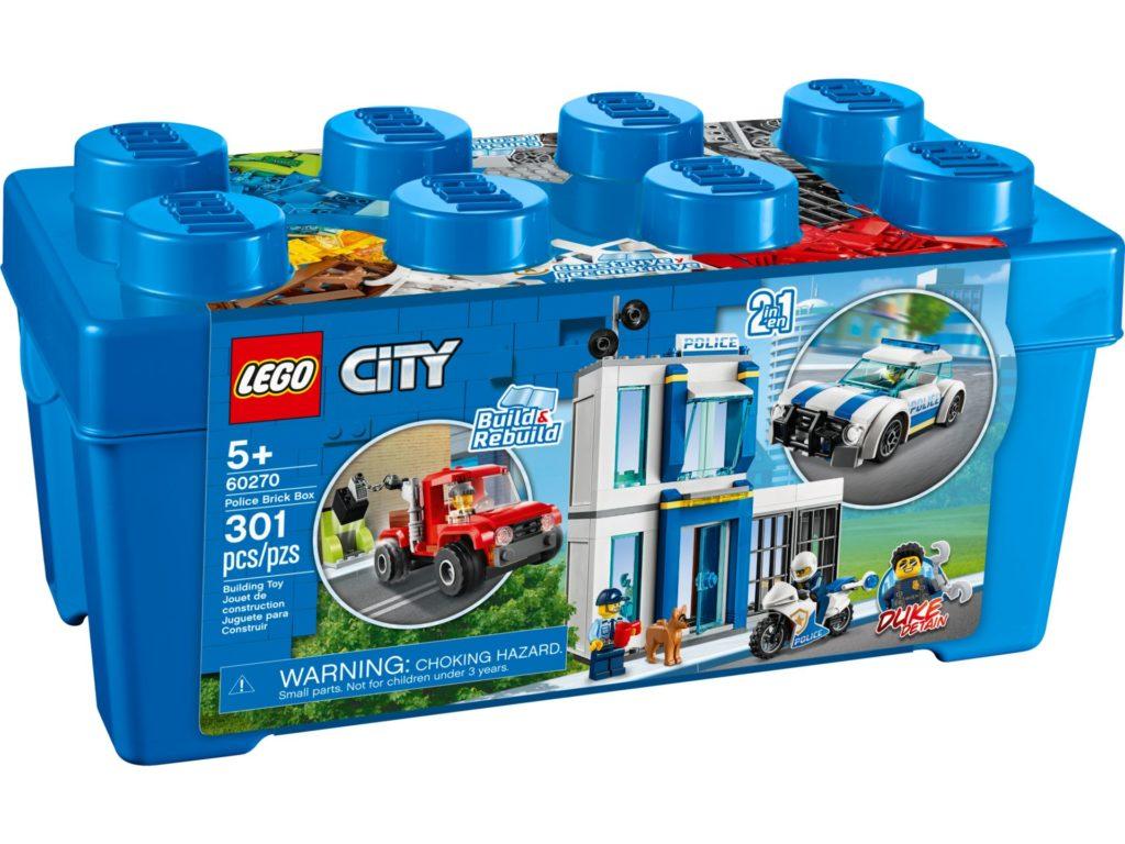 LEGO® City 60270 Polizei Steinebox | ©LEGO Gruppe