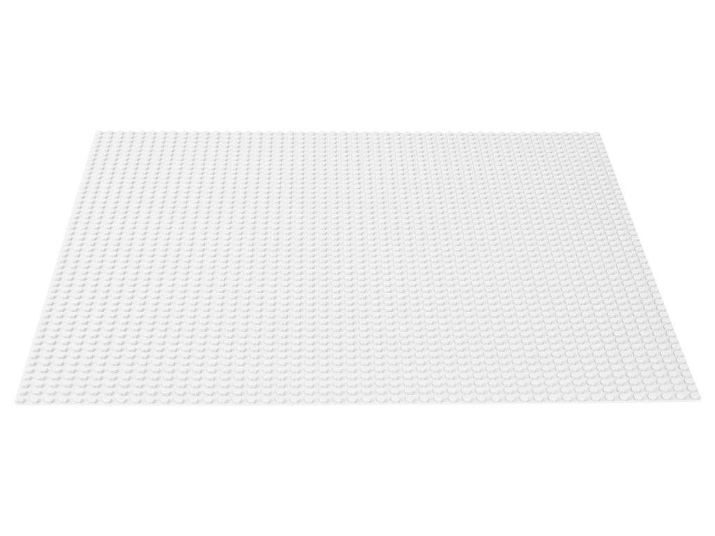 LEGO® Classic 11011 Weiße Basisplatte | ©LEGO Gruppe