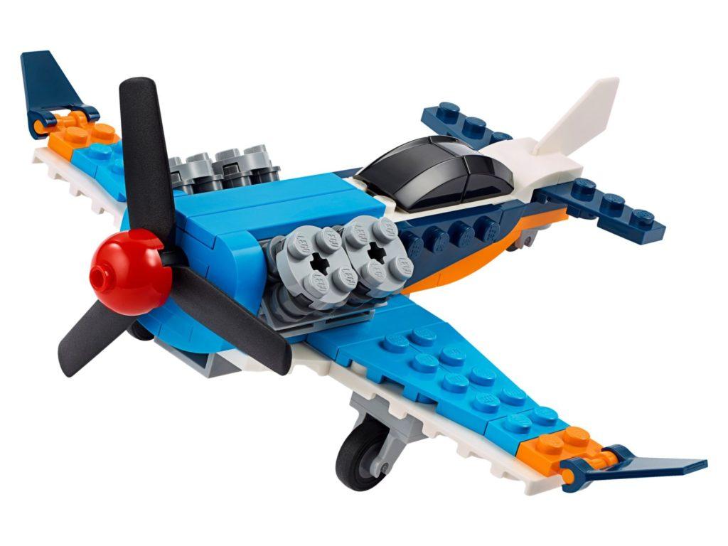 LEGO® Creator 3-in-1 31099 Propellerflugzeug | ©LEGO Gruppe