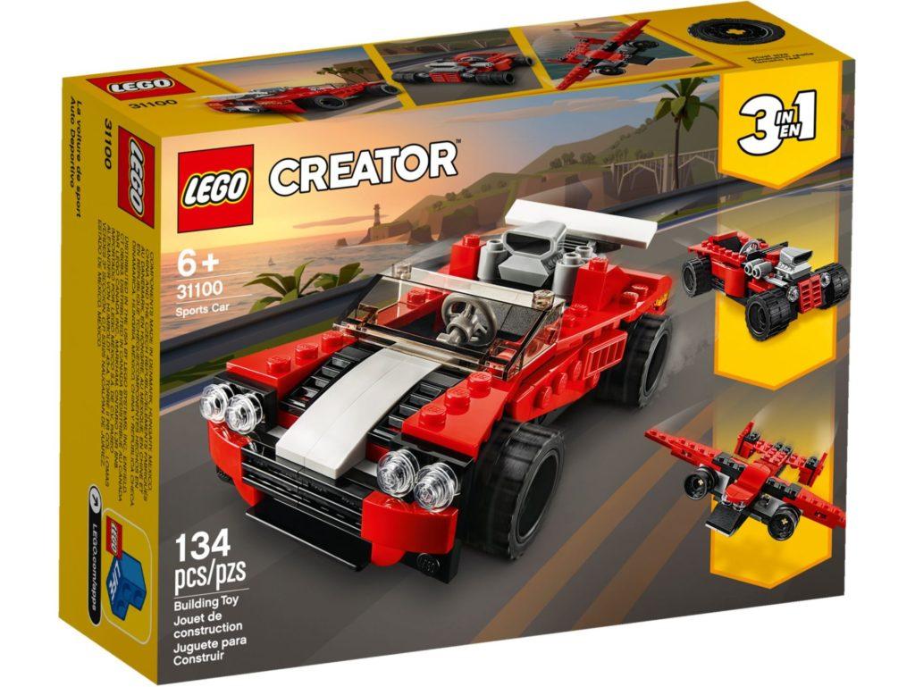 LEGO® Creator 3-in-1 31100 Sportwagen | ©LEGO Gruppe