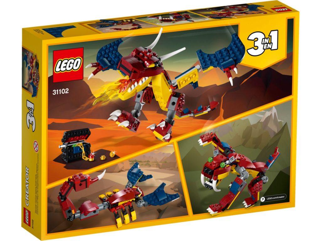 LEGO® Creator 3-in-1 31102 Feuerdrache | ©LEGO Gruppe