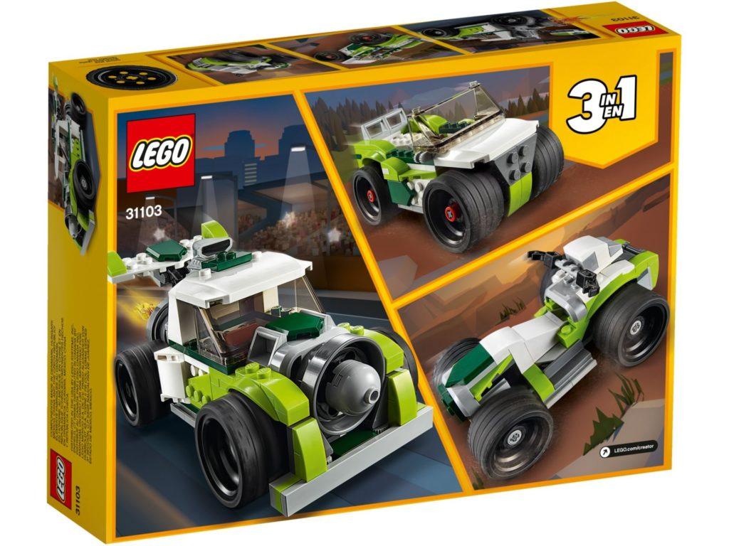 LEGO® Creator 3-in-1 31103 Raketen-Truck | ©LEGO Gruppe