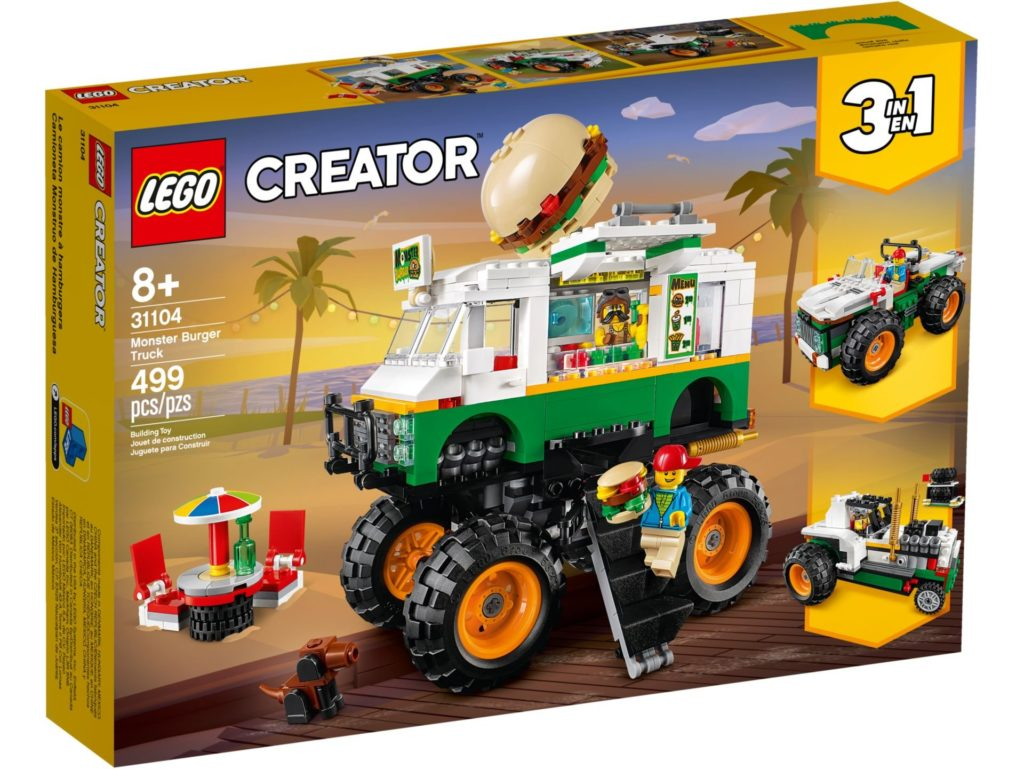 LEGO® Creator 3-in-1 31104 Monster Burger Truck | ©LEGO Gruppe