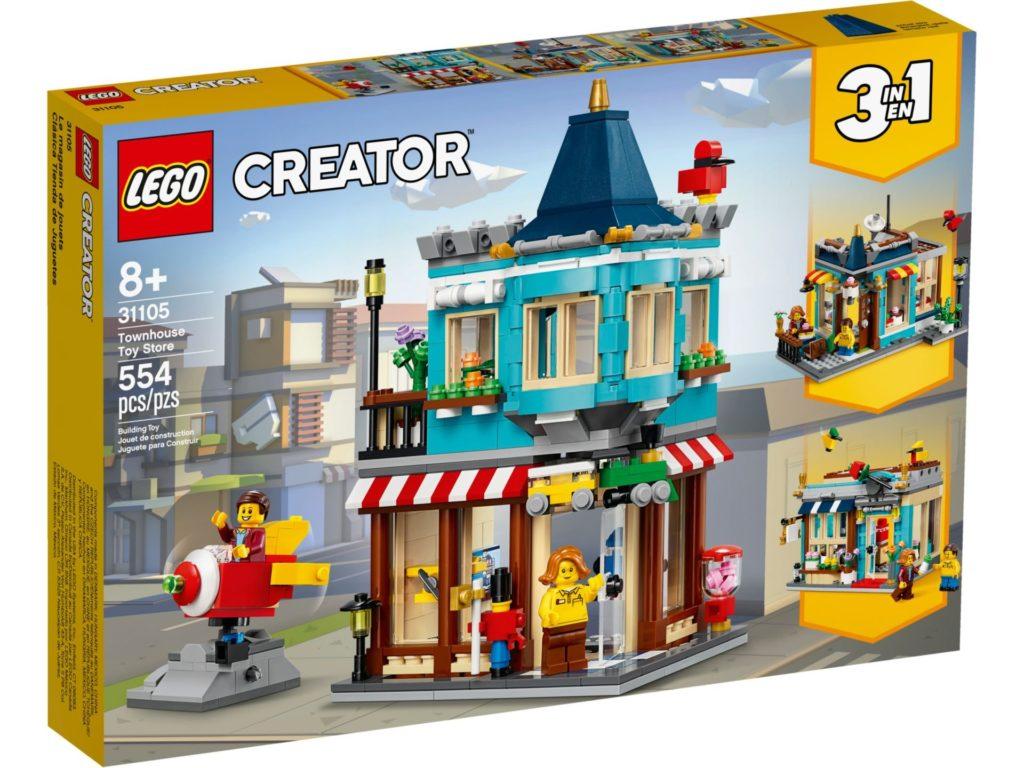 LEGO® Creator 3-in-1 31105 Stadthaus Spielwarenladen | ©LEGO Gruppe