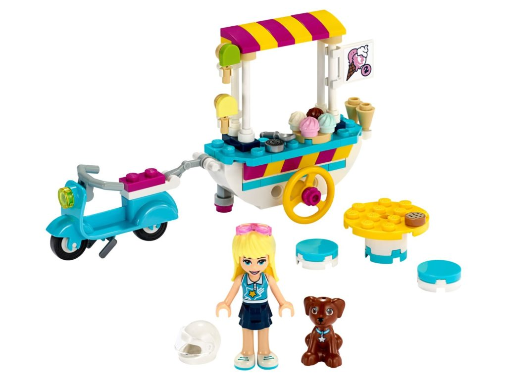LEGO® Friends 41389 Stephanies mobiler Eiswagen | ©LEGO Gruppe