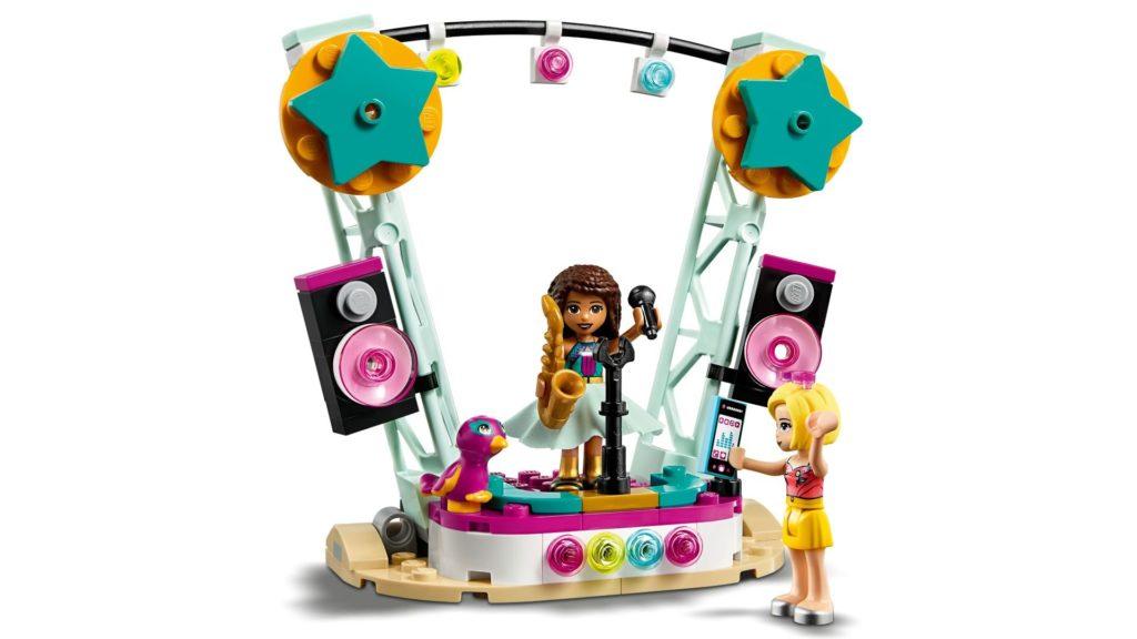 LEGO® Friends 41390 Andreas Auto und Bühne | ©LEGO Gruppe