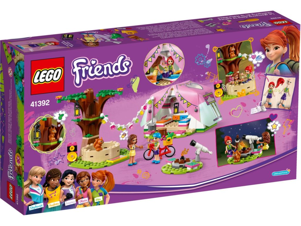 LEGO® Friends 41392 Camping in Heartlake City | ©LEGO Gruppe