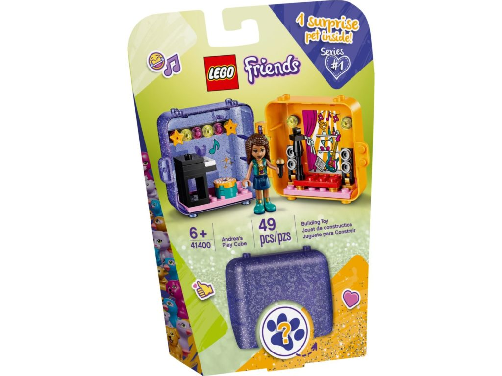 LEGO® Friends 41400 Andrea's Play Cube | ©LEGO Gruppe