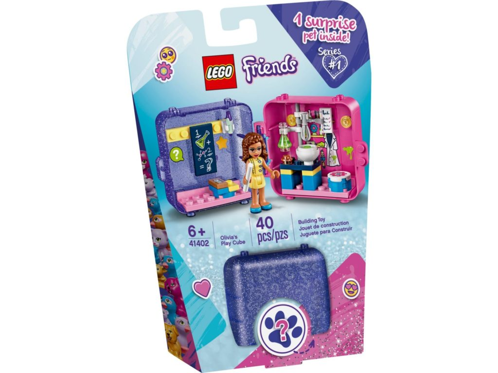 LEGO® Friends 41402 Olivia's Play Cube | ©LEGO Gruppe