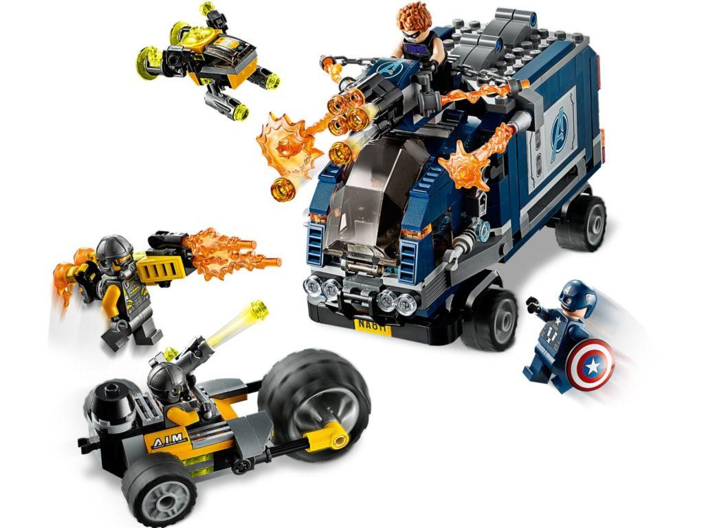 LEGO® Marvel Avengers 76143 Truck Take Down | ©LEGO Gruppe