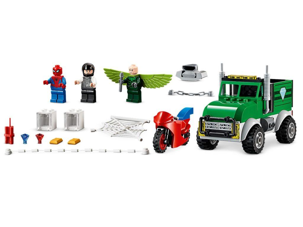 LEGO® Marvel Spider-Man 76147 Vulture's Trucker Robbery | ©LEGO Gruppe
