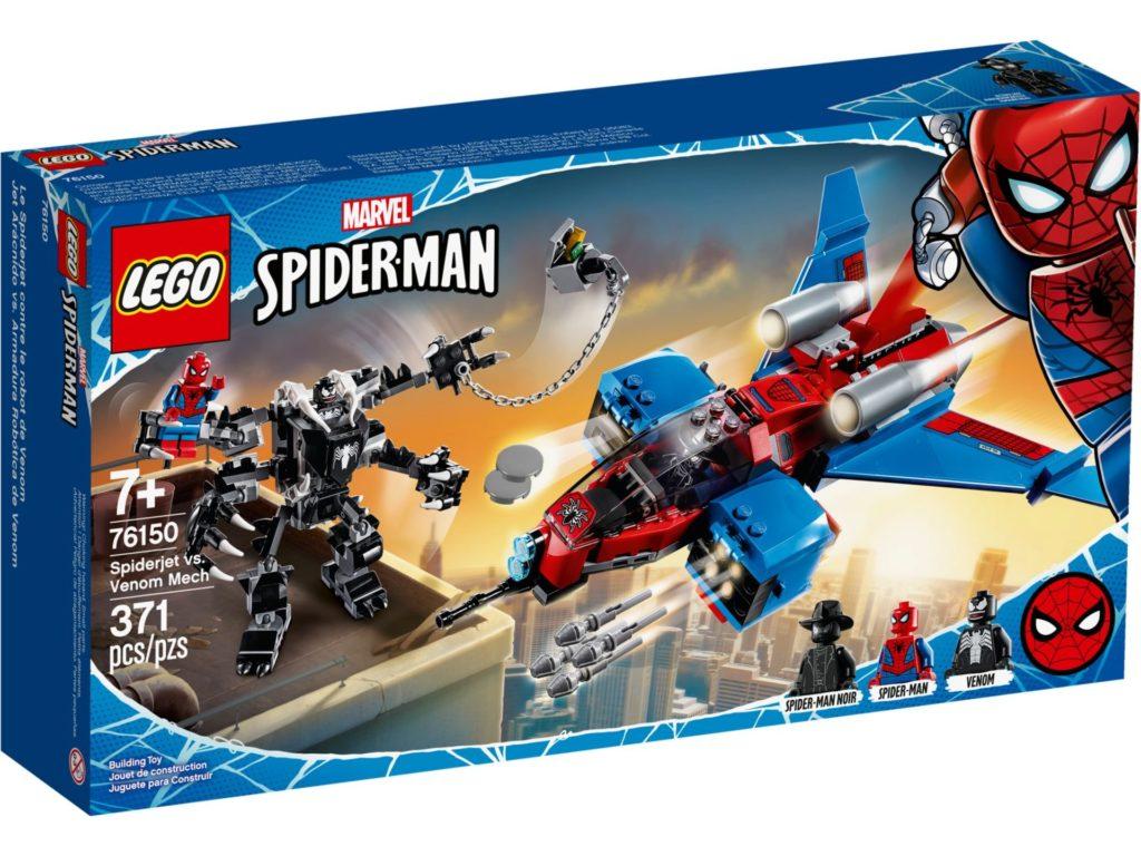 LEGO® Marvel Spider-Man 76150 Spiderjet vs. Venom Mech | ©LEGO Gruppe