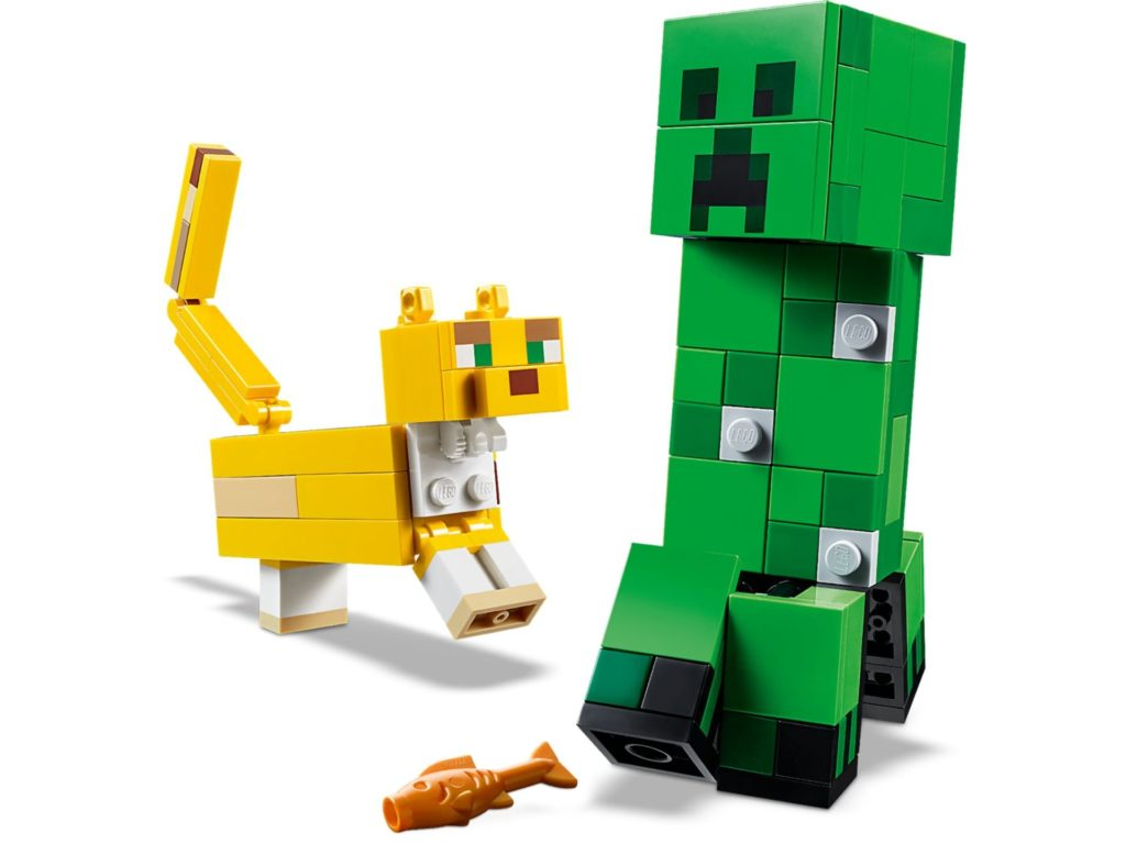 LEGO® Minecraft 21156 BigFig Creeper and Ocelot | ©LEGO Gruppe