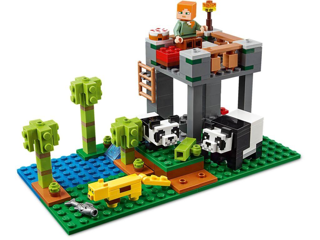 LEGO® Minecraft 21158 The Panda Nursery | ©LEGO Gruppe