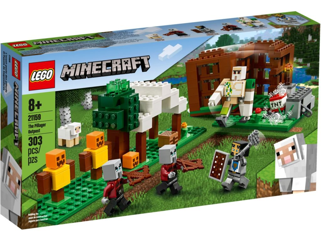 LEGO® Minecraft 21159 The Pillager Outpost | ©LEGO Gruppe
