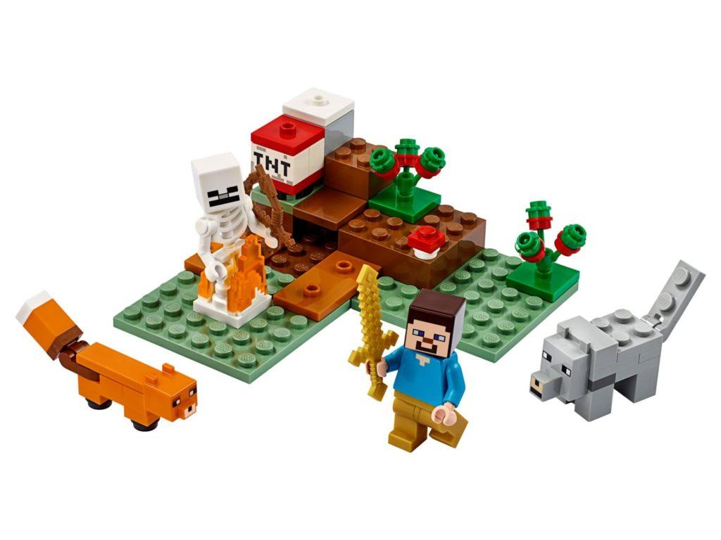 LEGO® Minecraft 21162 The Taiga Adventure | ©LEGO Gruppe