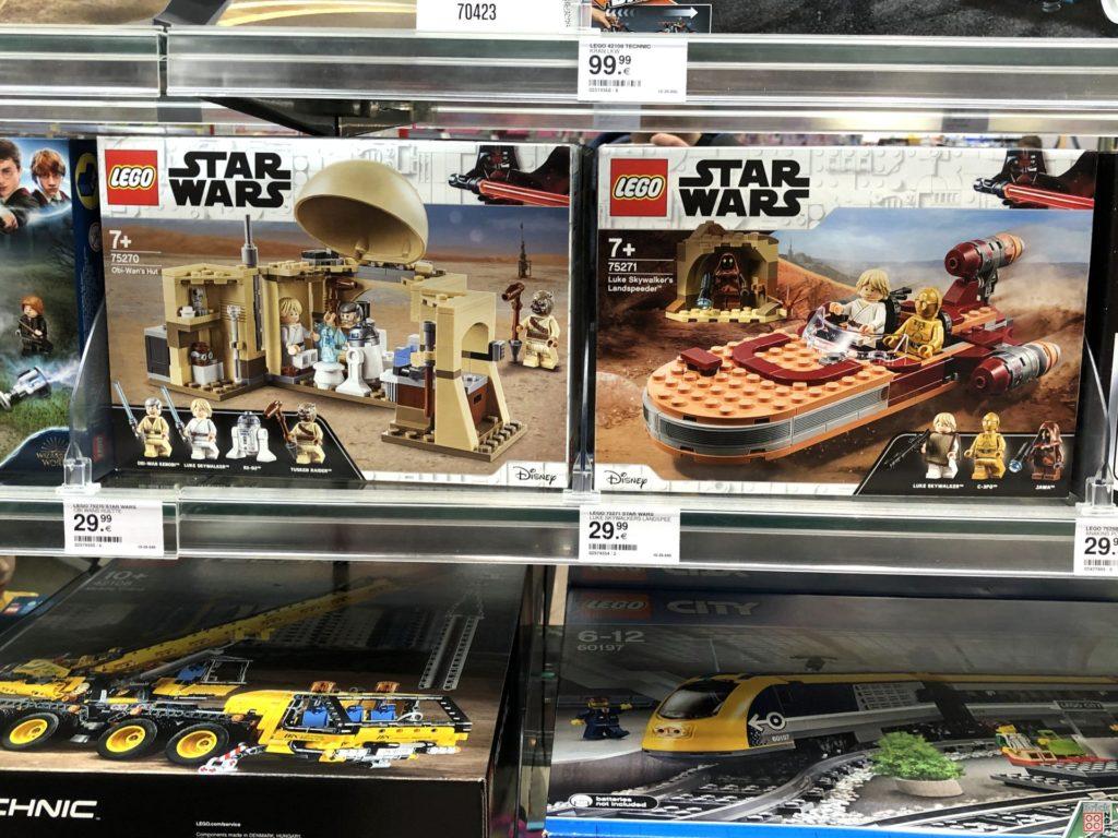 LEGO Star Wars und LEGO Technic Neuheiten 1. Halbjahr 2020 im Regal | ©2019 Brickzeit