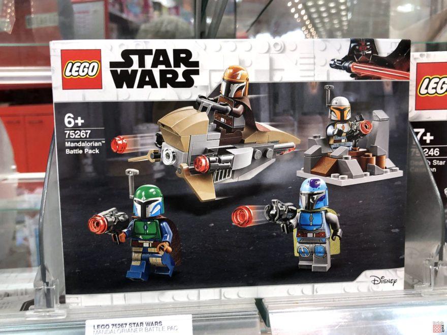LEGO Star Wars 75267 Mandalorian Battle Pack im Regal | ©2019 Brickzeit