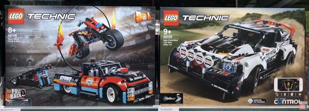 LEGO Technic Neuheiten 1. Halbjahr 2020 im Regal | ©2019 Brickzeit