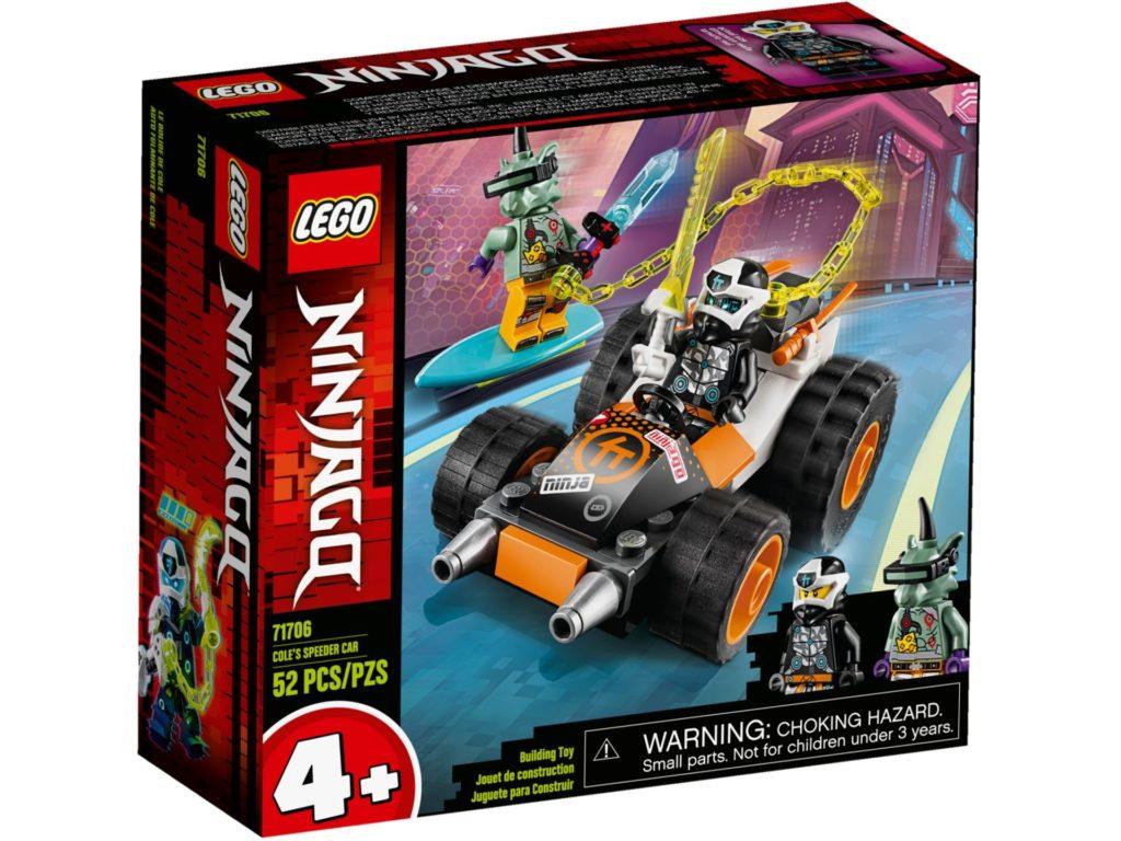 LEGO® Ninjago 71706 Cole's Speeder Car | ©LEGO Gruppe