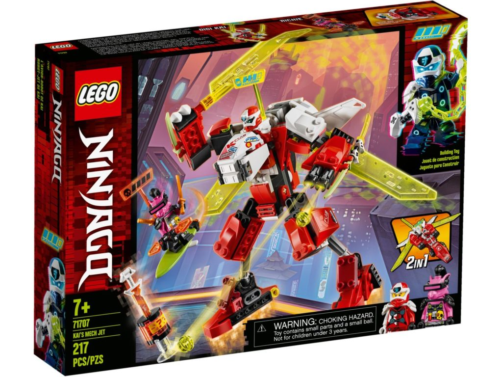 LEGO® Ninjago 71707 Kai's Mech Jet | ©LEGO Gruppe