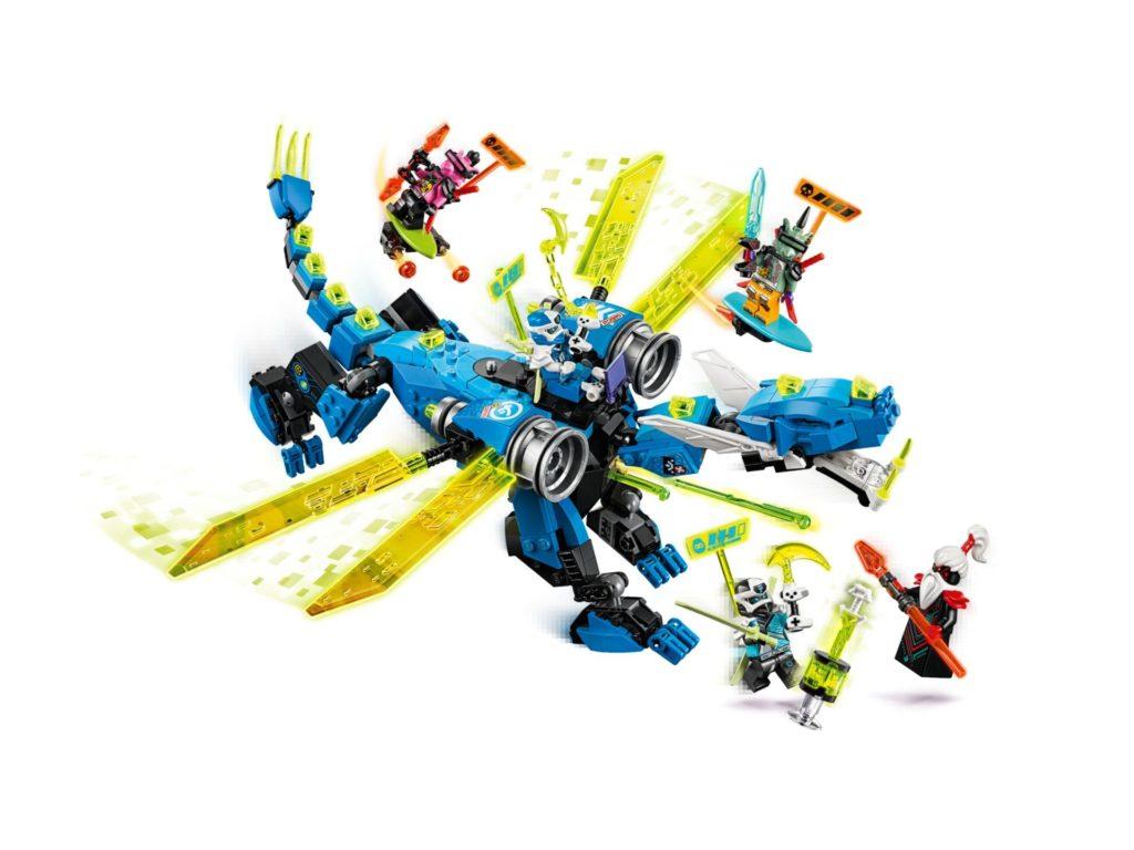 LEGO® Ninjago 71711 Jay's Cyber Dragon | ©LEGO Gruppe