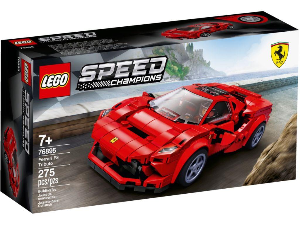 LEGO® Speed Champions 76895 Ferrari F8 Tributo | ©LEGO Gruppe