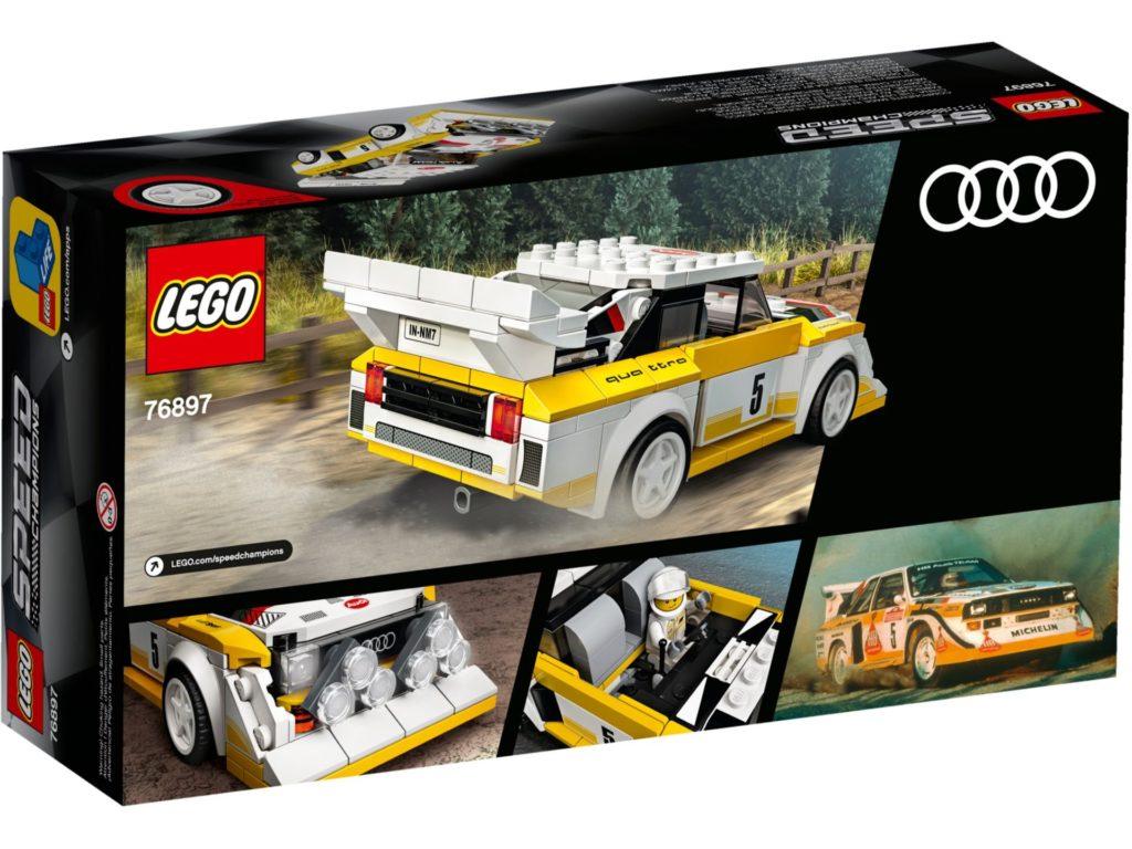 LEGO® Speed Champions 76897 1985 Audi Sport quattro S1 | ©LEGO Gruppe