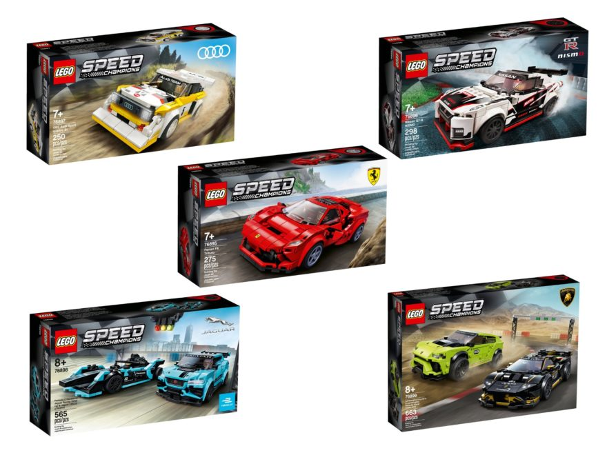 LEGO® Speed Champions 1. HJ 2020 | ©LEGO Gruppe
