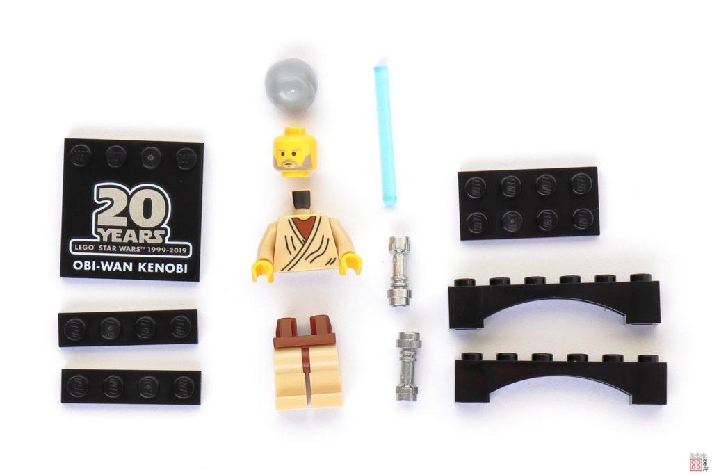 LEGO Star Wars 30624 Obi-Wan Kenobi Minifigur - Polybag Inhalt | ©2019 Brickzeit