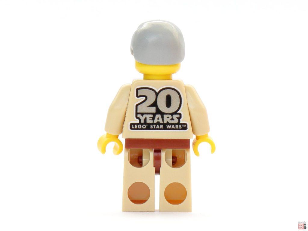 LEGO Star Wars 30624 Obi-Wan Kenobi Minifigur, Rückseite | ©2019 Brickzeit