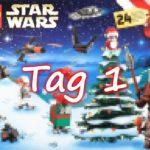Tür 1 - LEGO Star Wars 75245 Adventskalender 2019 | ©2019 Brickzeit