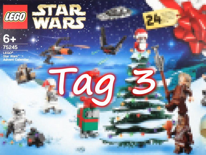 Tür 3 - LEGO Star Wars 75245 Adventskalender 2019 | ©2019 Brickzeit