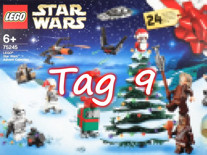 Tür 9 - LEGO Star Wars 75245 Adventskalender 2019 | ©2019 Brickzeit