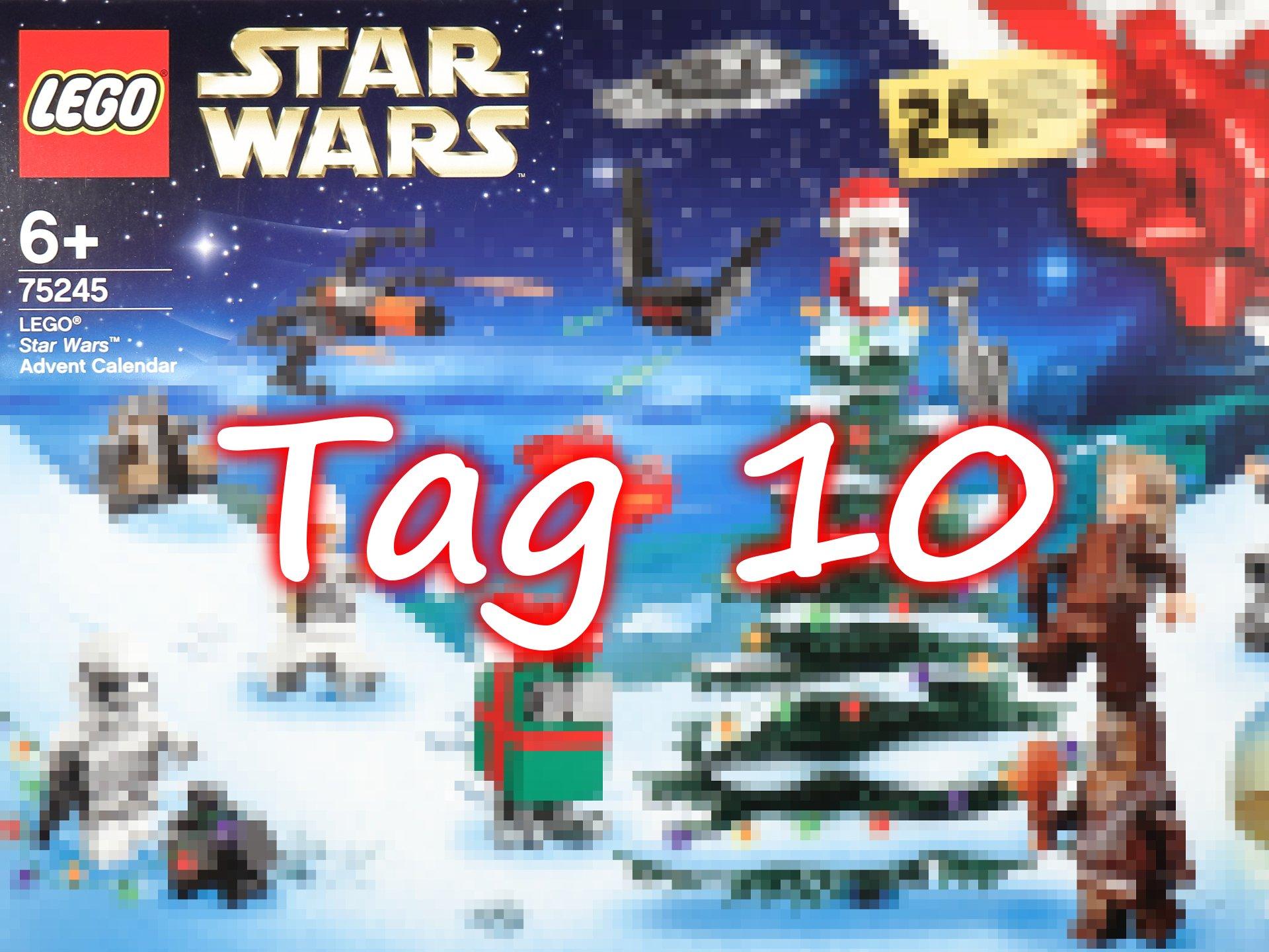 Tür 10 - LEGO Star Wars 75245 Adventskalender 2019 - Brickzeit