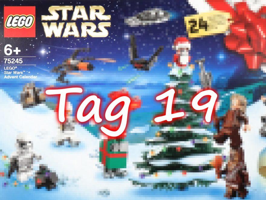 Tür 19 - LEGO Star Wars 75245 Adventskalender 2019 | ©2019 Brickzeit
