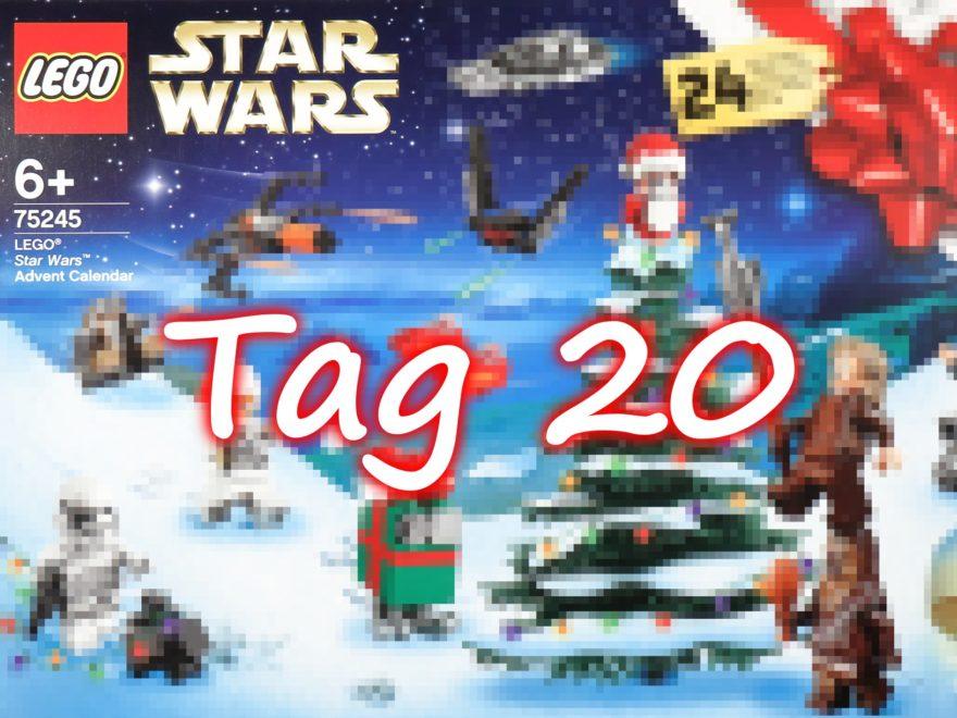 Tür 20 - LEGO Star Wars 75245 Adventskalender 2019 | ©2019 Brickzeit