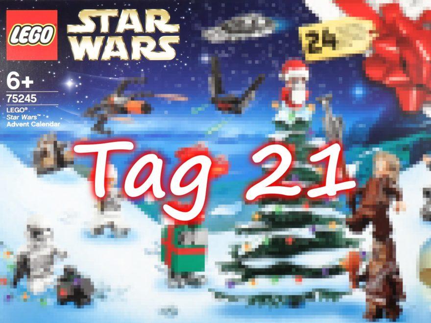 Tür 21 - LEGO Star Wars 75245 Adventskalender 2019 | ©2019 Brickzeit
