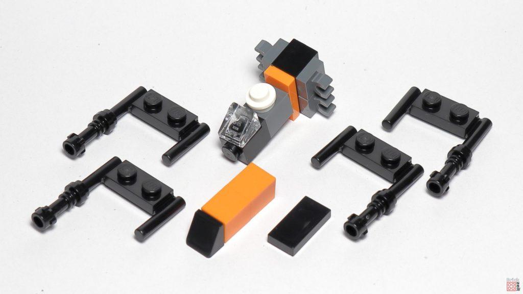 LEGO 75245 - Poe Damerons X-Wing in Einzelteilen | ©2019 Brickzeit