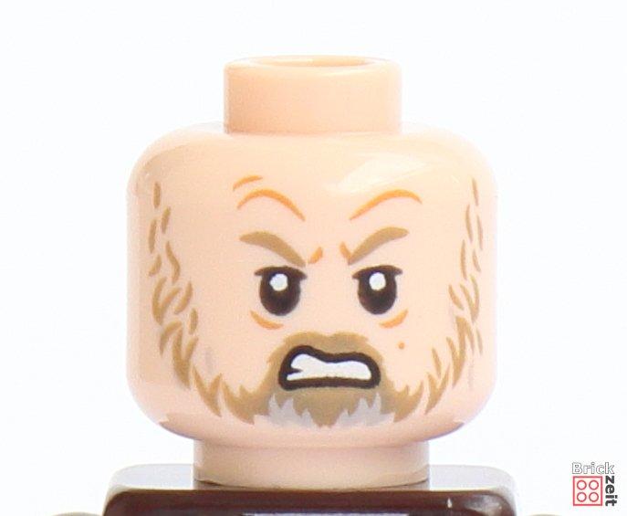 LEGO 75245 - Luke Skywalker, verärgertes Gesicht | ©2019 Brickzeit
