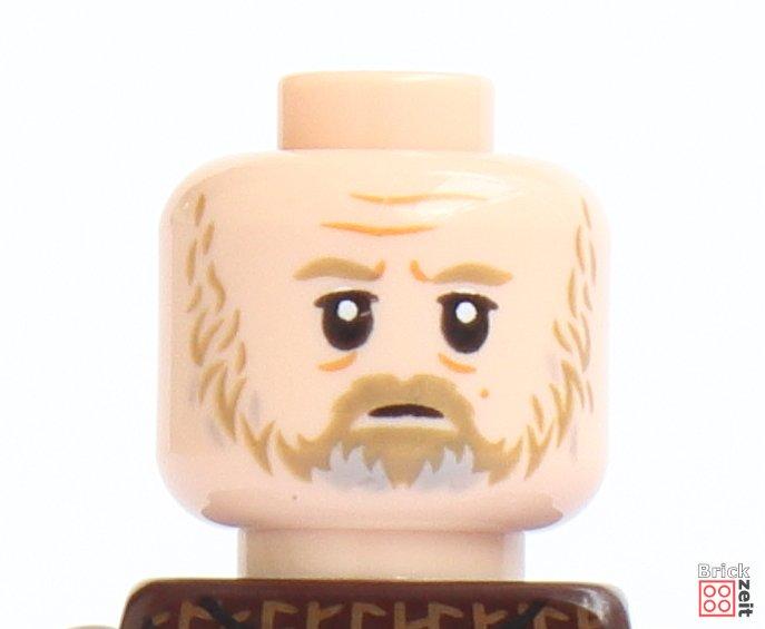 LEGO 75245 - Luke Skywalker, nachdenkliches Gesicht | ©2019 Brickzeit