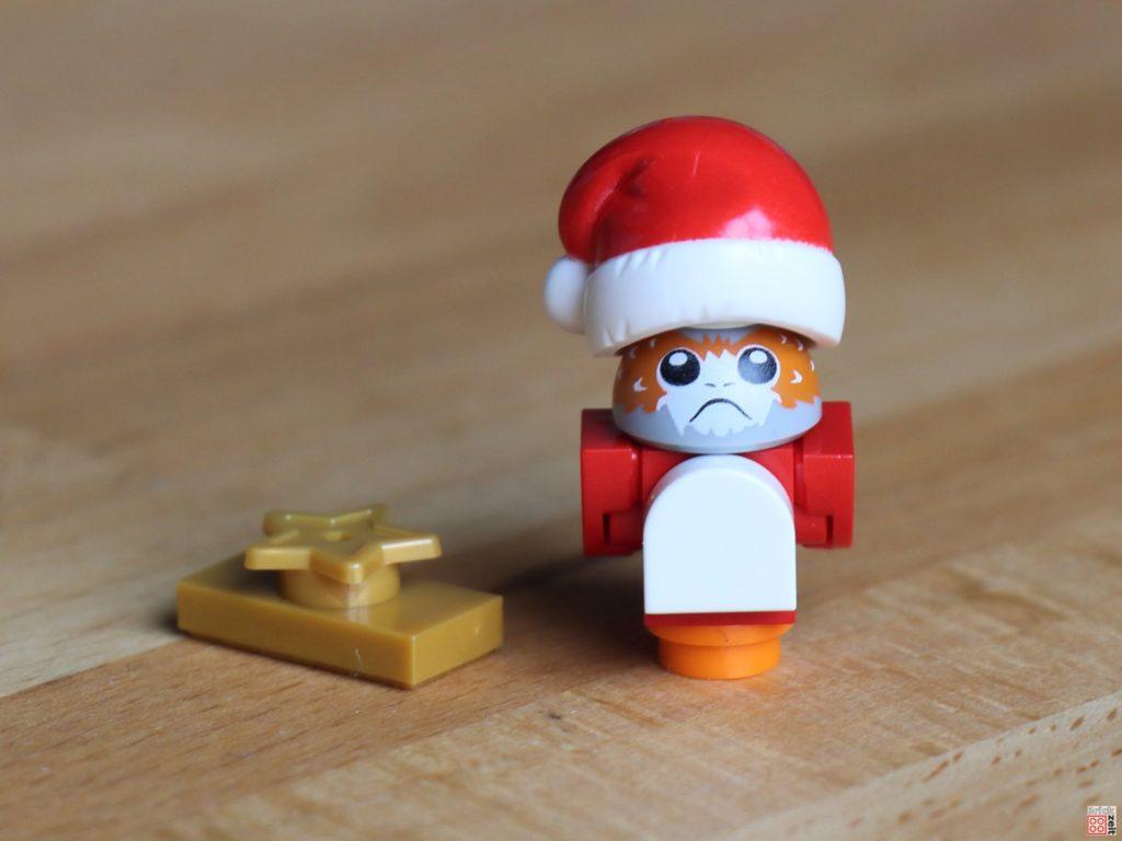 LEGO 75245 - Weihnachts-Porg mit Geschenk | ©2019 Brickzeit