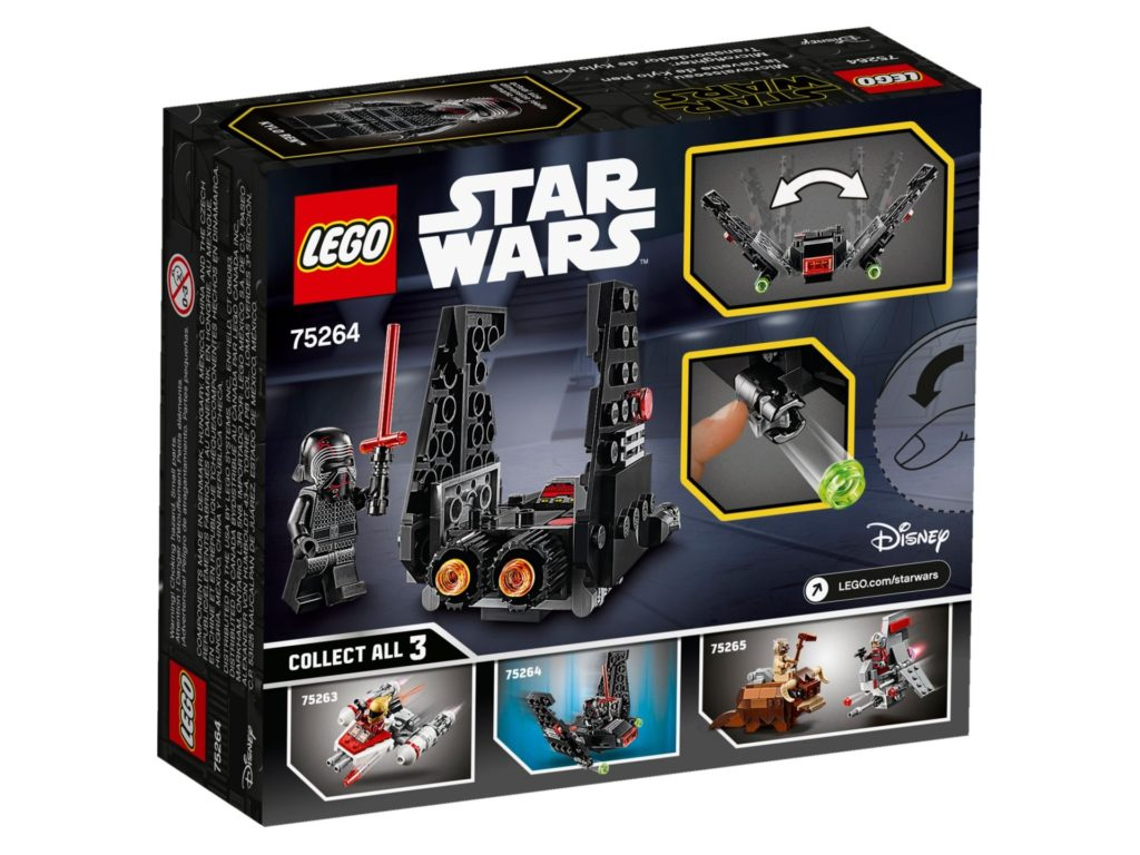 LEGO® Star Wars 75264 Kylo Rens Shuttle Microfighter | ©LEGO Gruppe