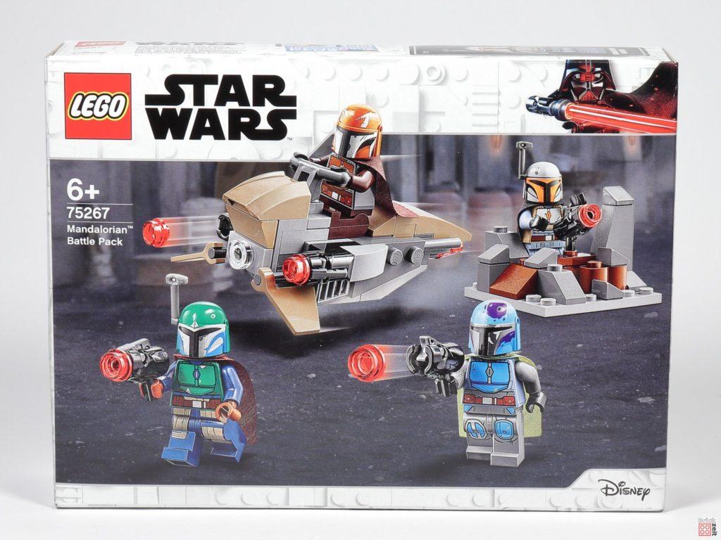 LEGO® Star Wars™ 75267 Mandalorianer Battle Pack - Packung Vorderseite | ©2019 Brickzeit