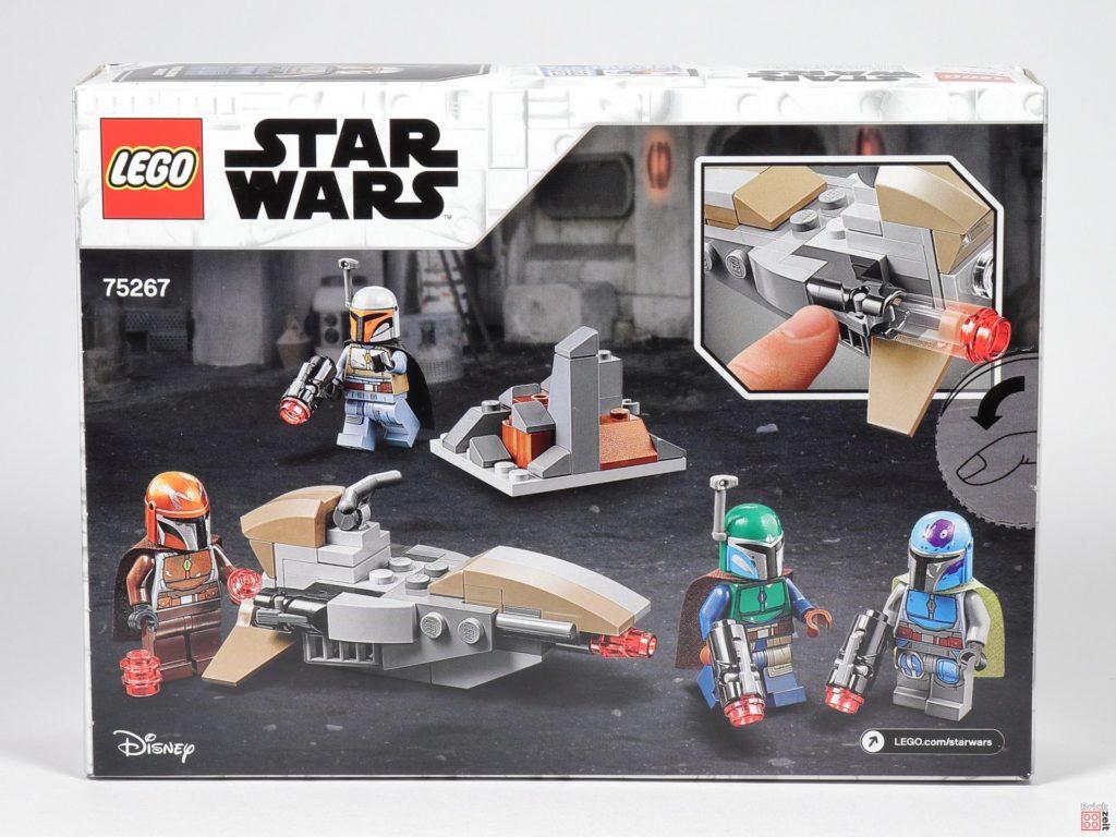 LEGO® Star Wars™ 75267 Mandalorianer Battle Pack - Packung Rückseite | ©2019 Brickzeit
